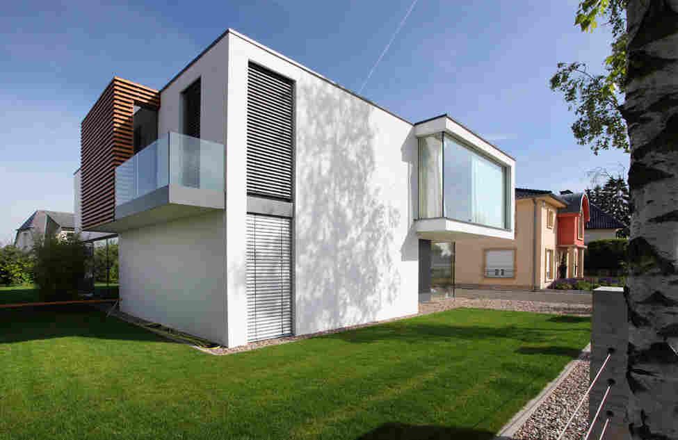 domy, vily, novostavby